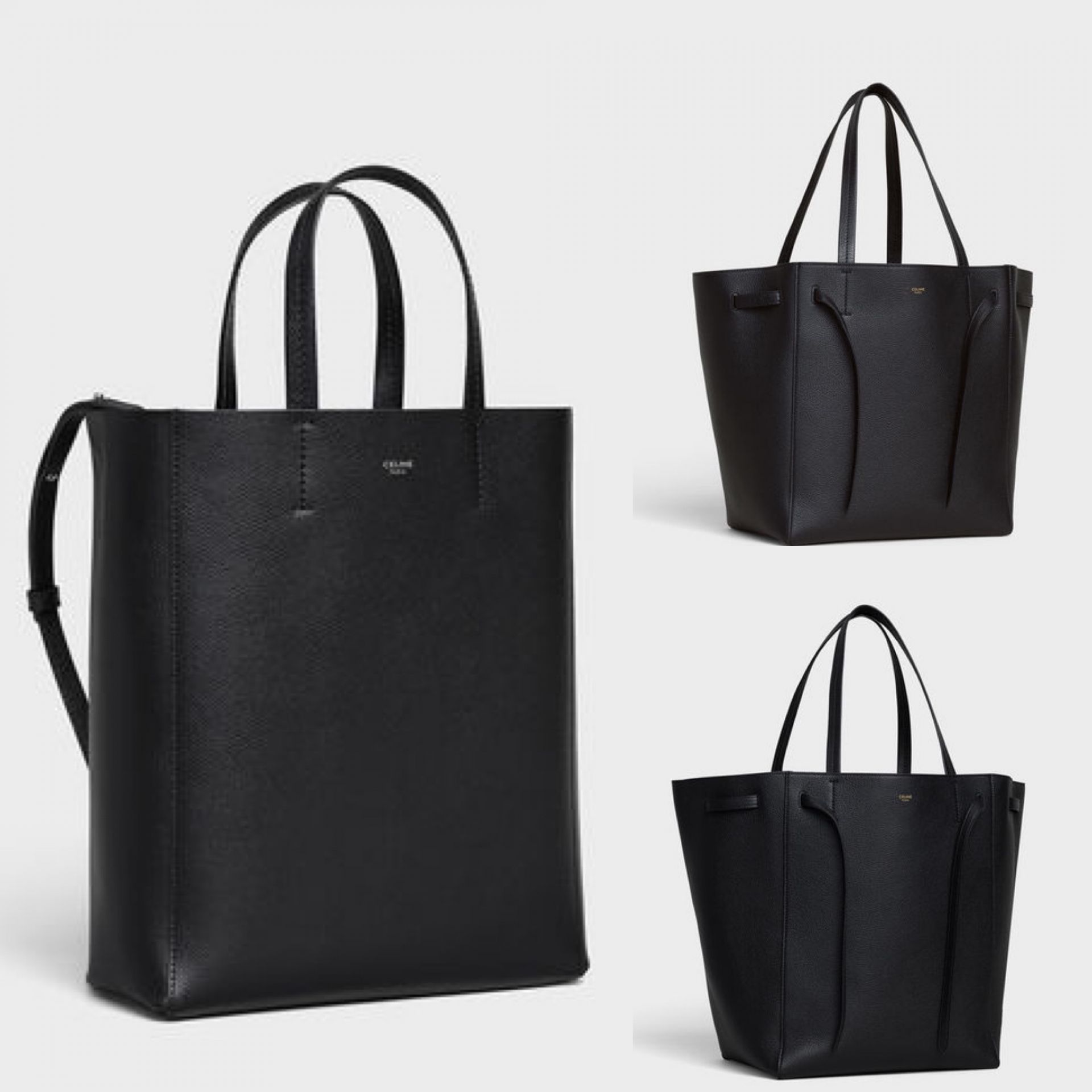 celine cabas tote review, wear and tear and sizing
