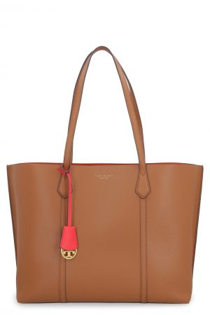 tory burch perry tote in light umber