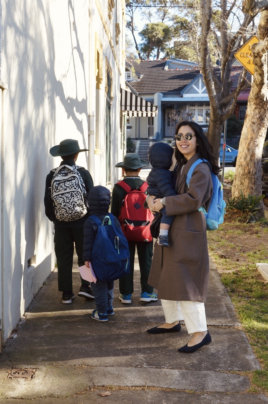 a day in the life of a working mum, sydney based lawyer and fashion blogger with 4 boys