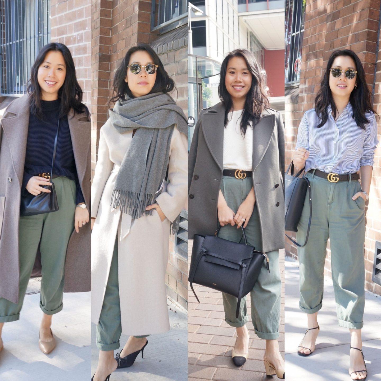 One Item, Four Ways: Khaki Pants