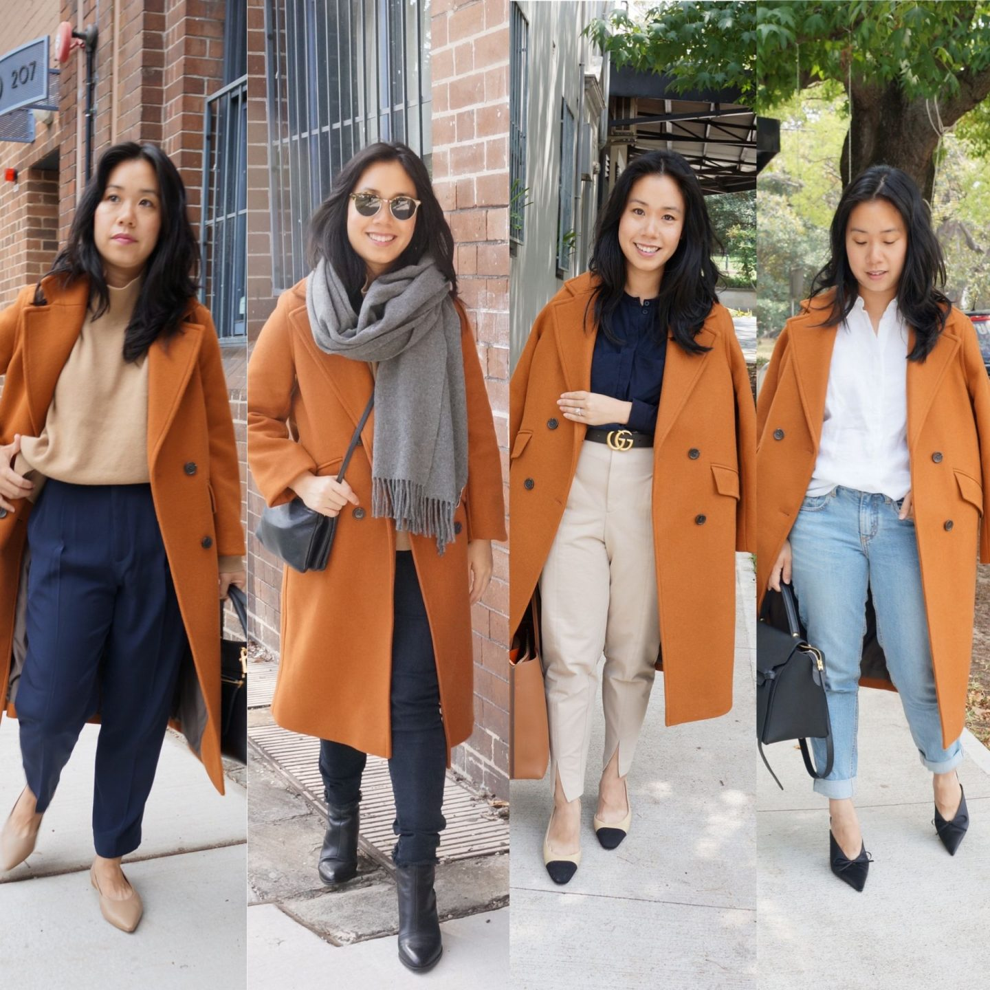 everlane rewool overcoat review and outfits featuring italian overcoat