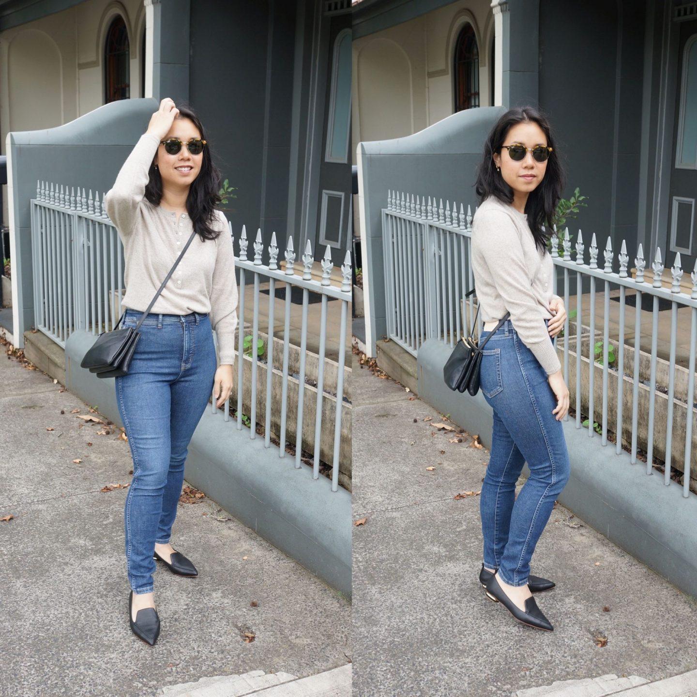 Everlane Way High Skinny Jeans