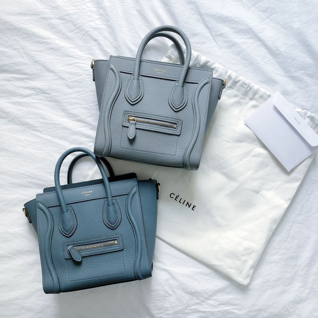 celine nano luggage tote in blog post about designer items on my wishlist for 2021