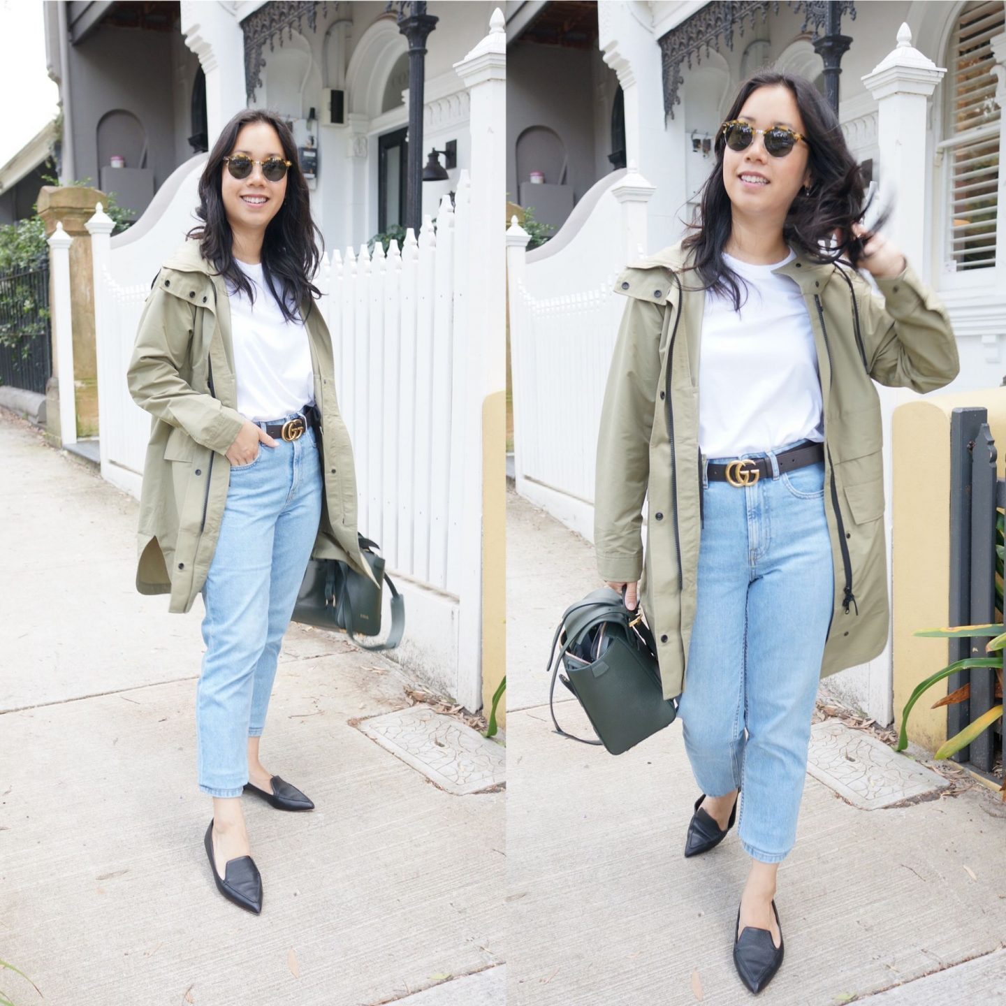 everlane anorak in blog post about transitional outerwear and jackets for spring and autumn