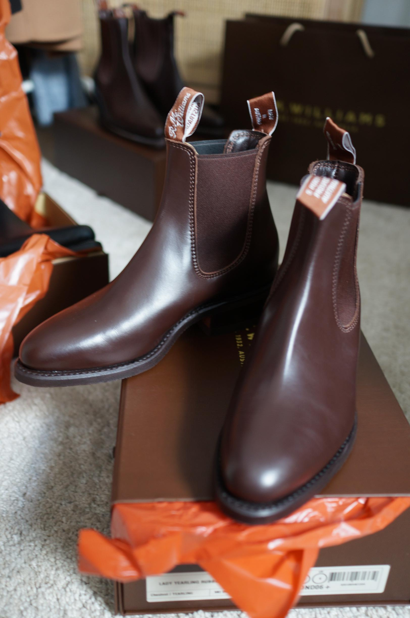 r.m. williams lady yearling boots in blog post about r.m. williams boots and first impressions