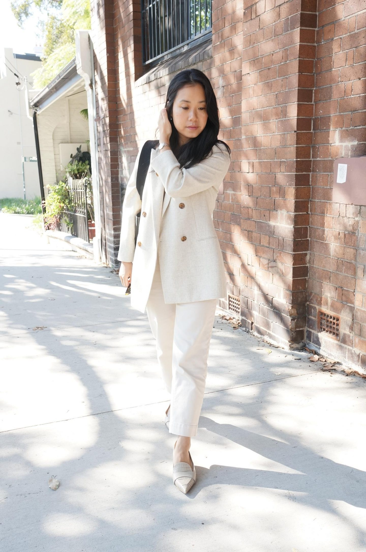 Styling a Beige Blazer for the Spring / Autumn Transition