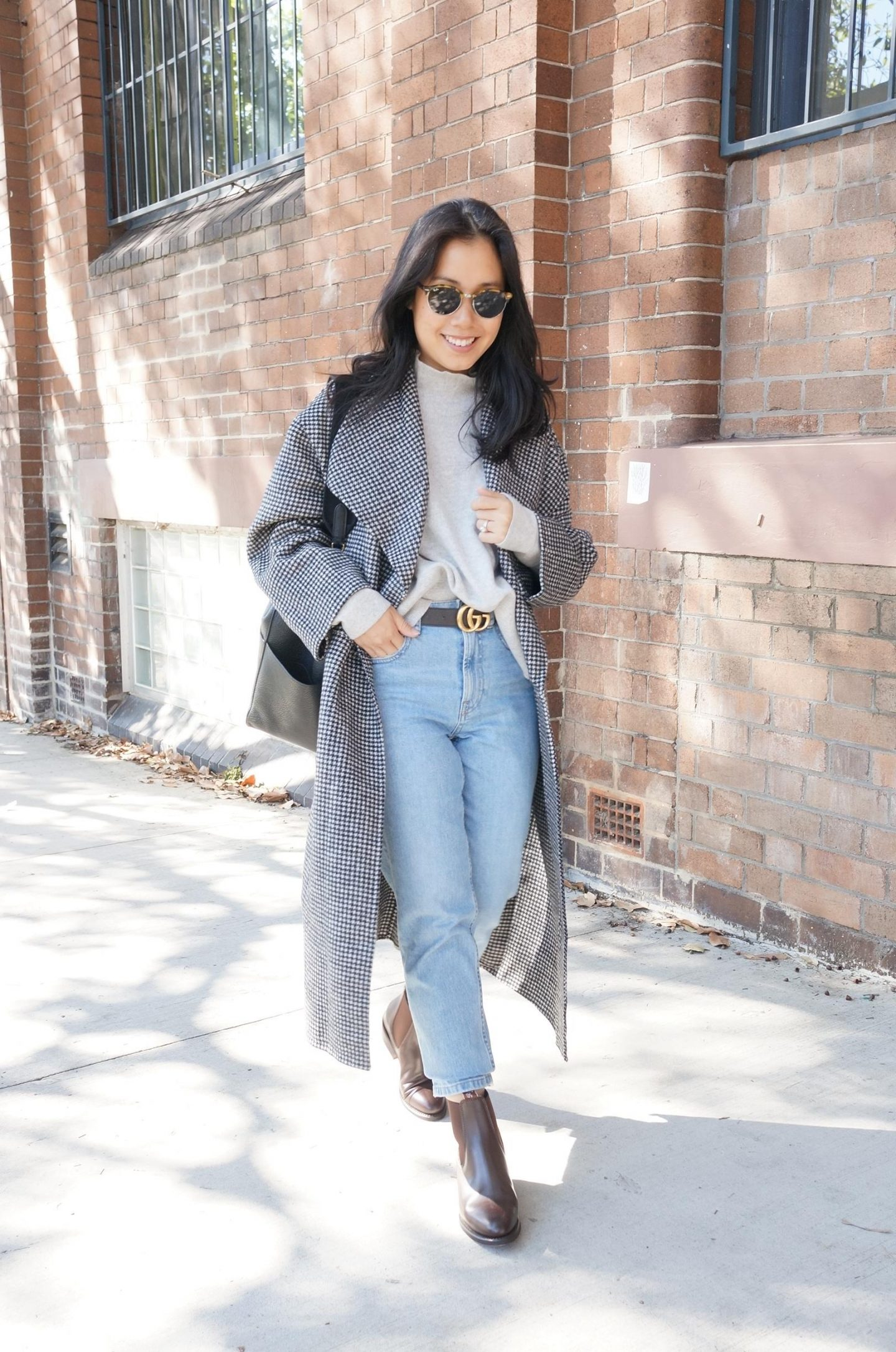 straight leg jeans in blog post about alternatives to skinny jeans