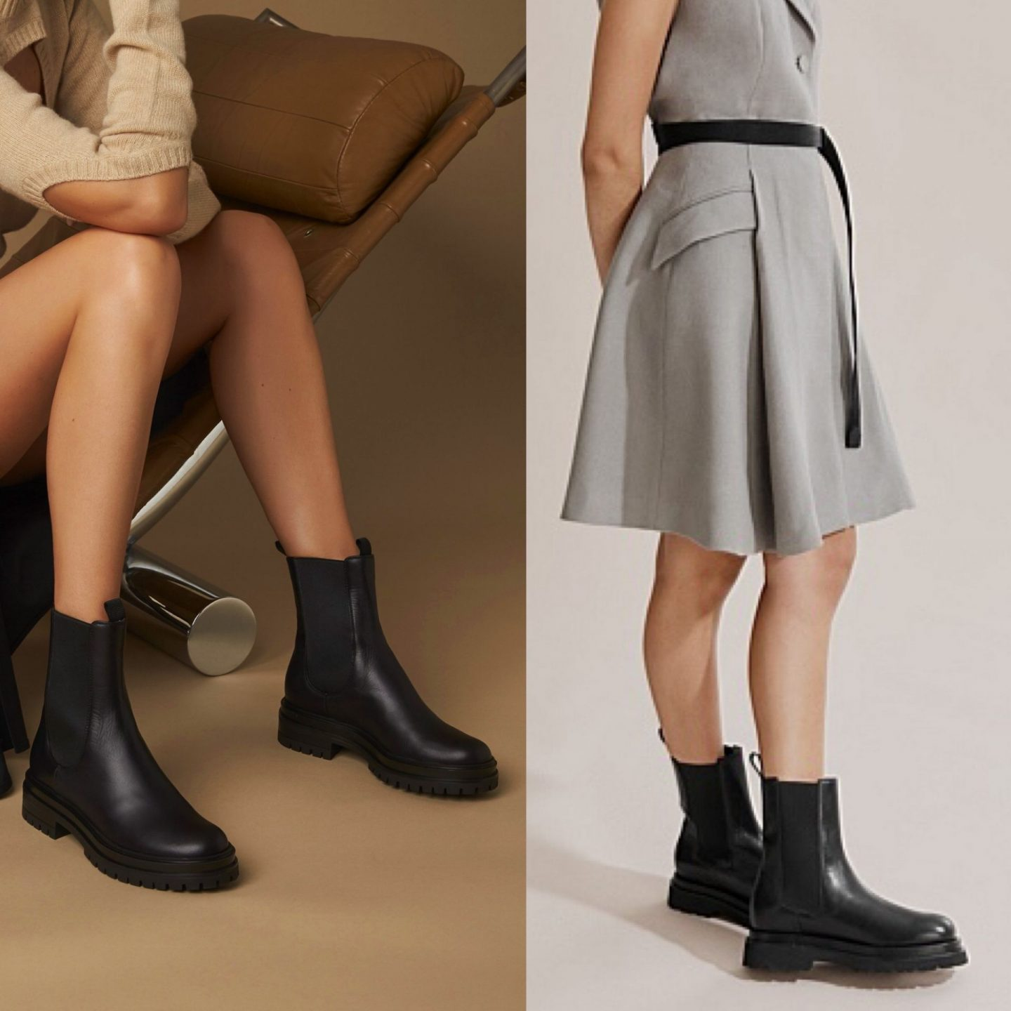 gianvito rossi chester boot and shoe dupe option in blog post about designer shoe dupes