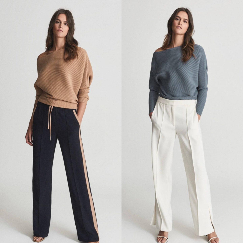 reiss lorna knit jumper in blog post sharing best knitwear of 2021